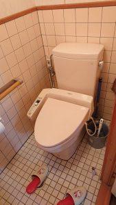 お客様のおうちについていたトイレ