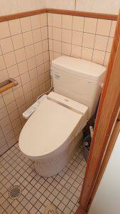 新しくなったトイレ